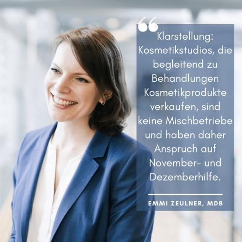 2021 01 MdB Zeulner-Kosmetikstudios in Coronazeiten-Social Media