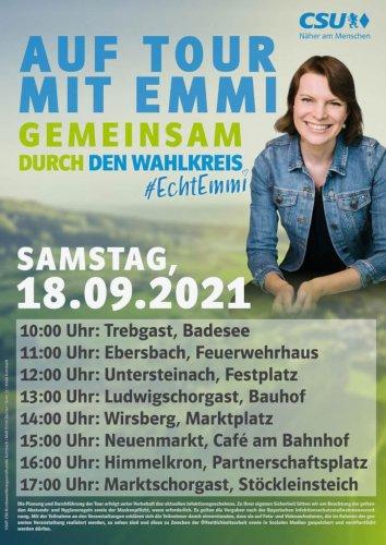 Auf Tour mit Emmi 18.09.2021